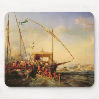 Naval Battle of Imbre in 1346, 1842 Mouse Pad