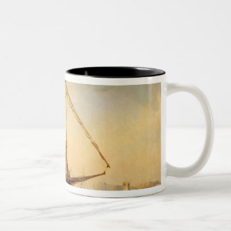 Naval Battle of Imbre in 1346, 1842 Coffee Mugs