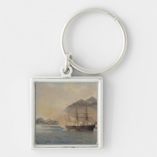 Naval Battle of the Strait of Shimonoseki Key Chains