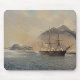 Naval Battle of the Strait of Shimonoseki Mouse Pad