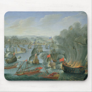 Naval Battle with the Spanish Fleet Mouse Pad