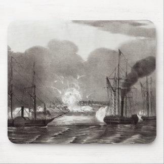 Naval Bombardment of Vera Cruz Mouse Pad