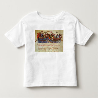Naval Combat between two Ships Toddler T-shirt