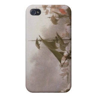 Naval Combat off the Isle of Grenada iPhone 4 Case