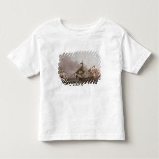Naval Combat off the Isle of Grenada Toddler T-shirt