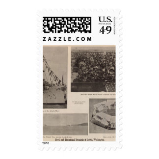 Naval educational triumphs Seattle Wash Postage