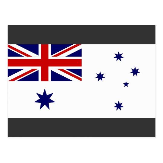 Naval Ensign Australia, Australia Postcard