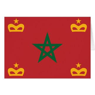 Naval Ensign Morocco, Morocco Greeting Card