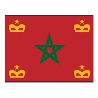 Naval Ensign Morocco, Morocco Postcard