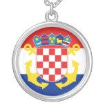 Naval Ensign Of Croatia, Croatia Necklace