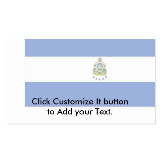 Naval Ensign Of Honduras, Guyana Business Card Template