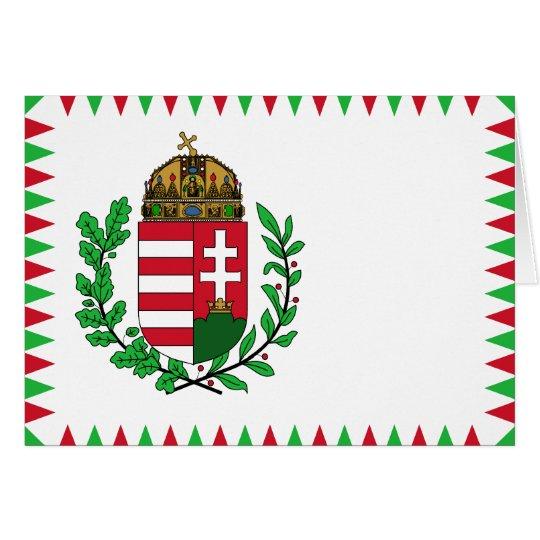Naval Ensign Of Hungary, Hungary flag Card