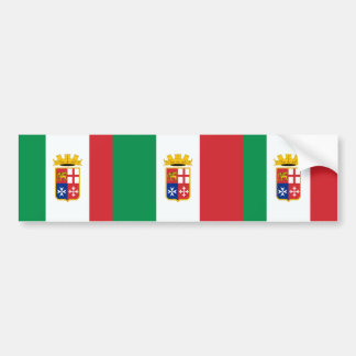 Naval Ensign Of Italy, Italy Bumper Stickers