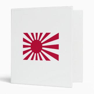 Naval Ensign Of Japan 3 Ring Binder