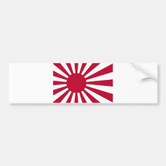 Naval Ensign of Japan - Japanese Rising Sun Flag Bumper Sticker