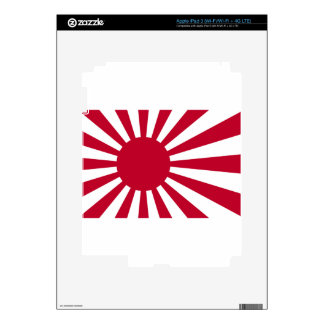 Naval Ensign of Japan - Japanese Rising Sun Flag Decals For iPad 3