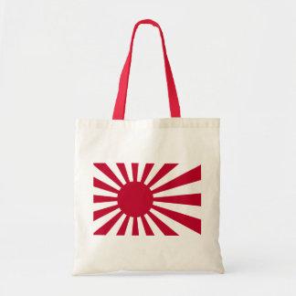 Naval Ensign of Japan - Japanese Rising Sun Flag Tote Bag