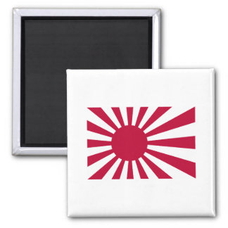 Naval Ensign Of Japan Magnet