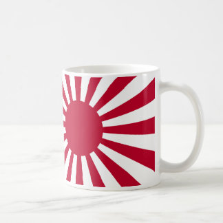 Naval Ensign of Japan  Rising Sun Flag Coffee Mug