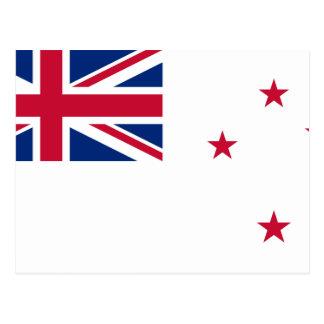 Naval Ensign Of New Zealand, New Zealand Postcard