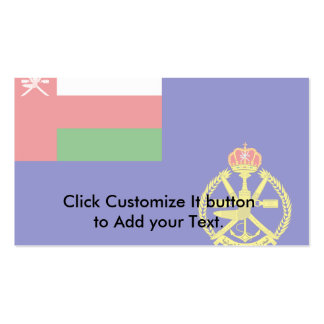 Naval Ensign Of Oman Norway flag Business Cards