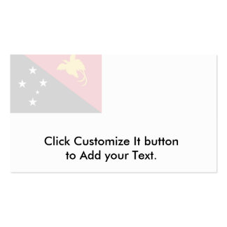 Naval Ensign Of Papua New Guinea, Panama Business Card Template
