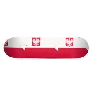 Naval Ensign Of Poland, Poland Custom Skate Board