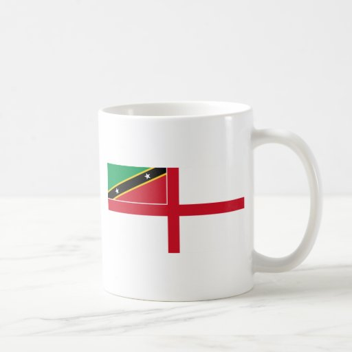 Naval Ensign Of Saint Kitts And Nevis, Russia Mug