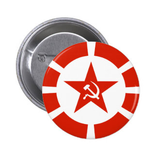 Naval Flag 1923 2 Inch Round Button