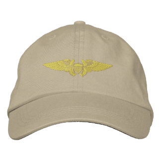 Naval Flight Officer Embroidered Baseball Hat