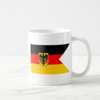 Naval German Ensign Classic White Coffee Mug