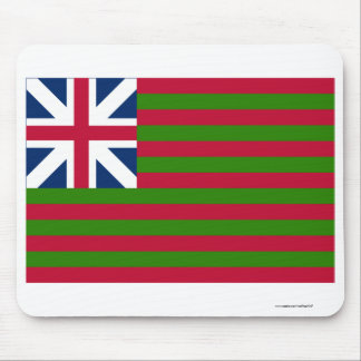 Naval Grand Union Flag Mouse Pad