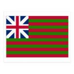 Naval Grand Union Flag Post Card