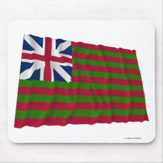 Naval Grand Union Waving Flag Mouse Pad