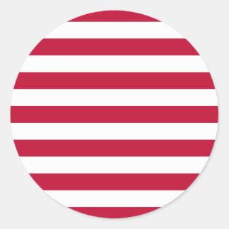 Naval Jack Classic Round Sticker