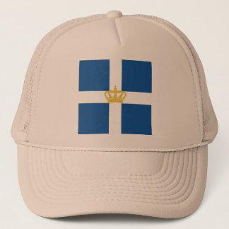 Naval Jack Kingdom Greece, Greece Trucker Hat