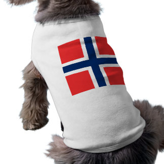 Naval Jack Norway, Norway Dog Tshirt