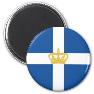 Naval Jack Of Kingdom Of Greece, Greece Magnet