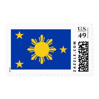 Naval Jack of Philippines Postage Stamp