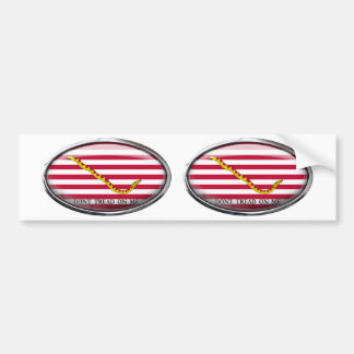 Naval Jack of the USA Bumper Sticker