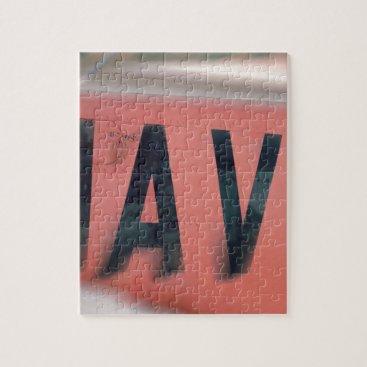 Naval Logo Navy Jigsaw Puzzle