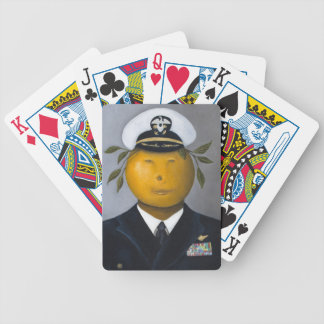 Naval Officer Bicycle Playing Cards