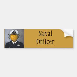 Naval Officer Bumper Sticker