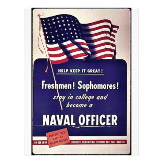 Naval Officer Flyers