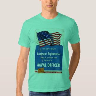 Naval Officer World War II T-Shirt