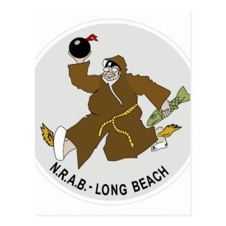 NAVAL RESERVE AIR BASE NRAB DAUGHERTY FIELD LONG B POSTCARD