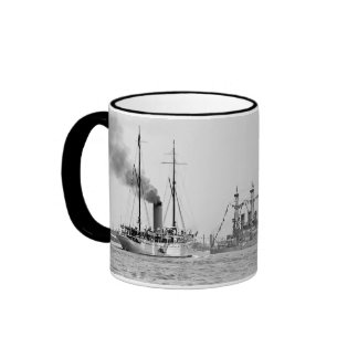 Naval Review Ringer Mug