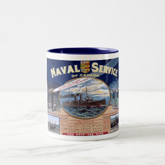 Naval Service of Canada Two-Tone Coffee Mug