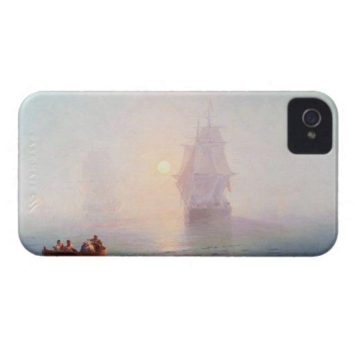 Naval Ship Ivan Aivazovsky seascape waterscape sea Case-Mate Blackberry Case