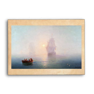 Naval Ship Ivan Aivazovsky seascape waterscape sea Envelopes